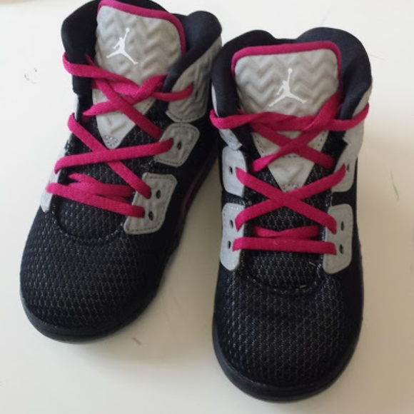 Nike Air jordan spike 40 toddler girl shoes 8c